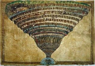 Infierno por Botticelli